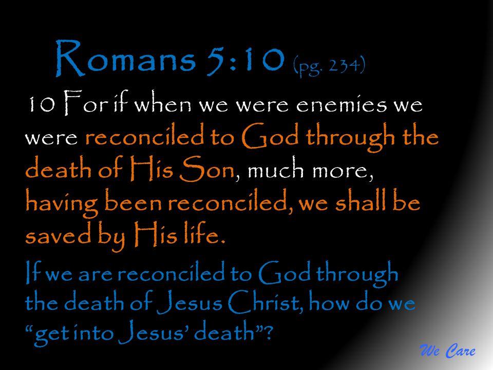 Romans 5:10 (pg. 234)