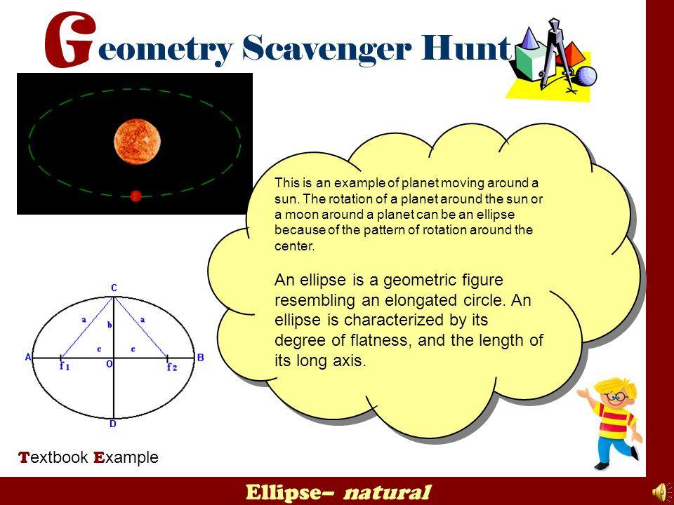 This is an example of planet moving around a sun