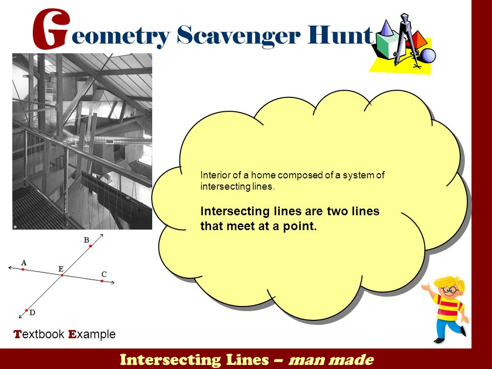 Intersecting Lines – man made