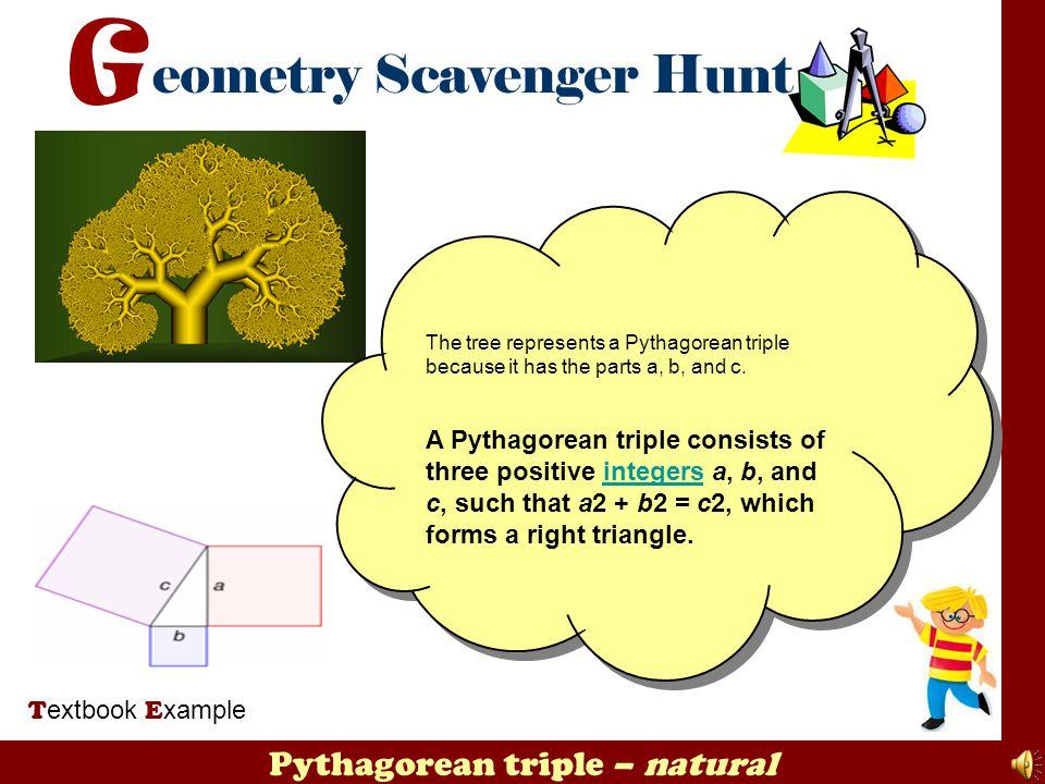 Pythagorean triple – natural