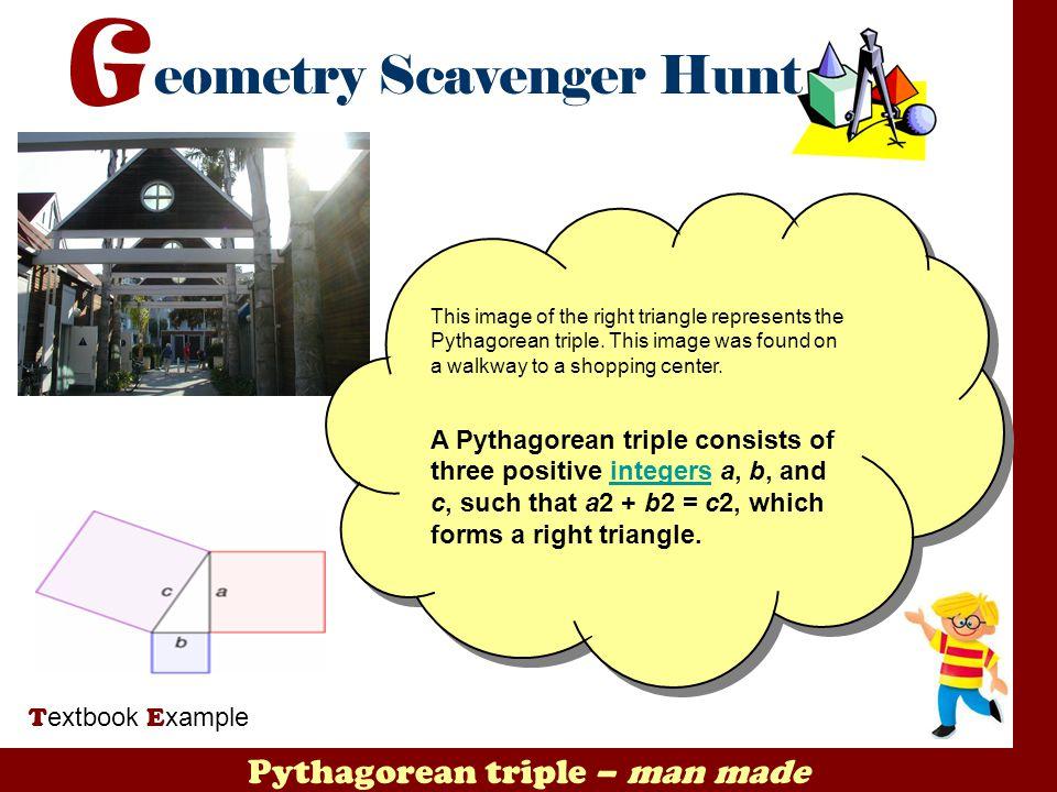 Pythagorean triple – man made