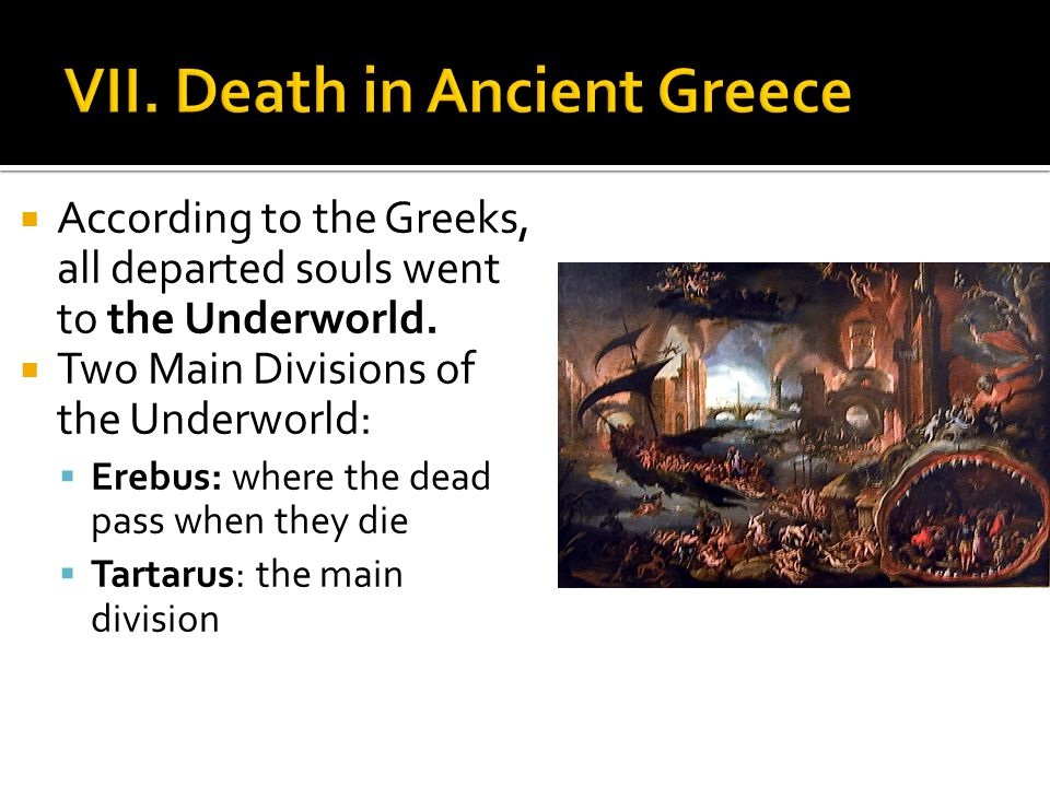 VII. Death in Ancient Greece