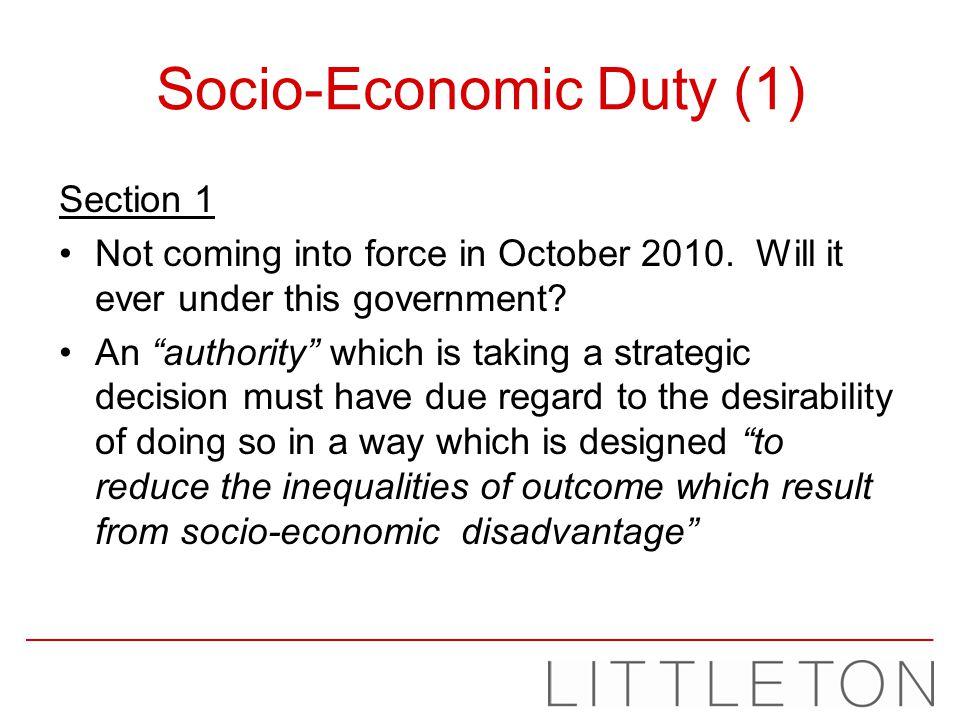 Socio-Economic Duty (1)