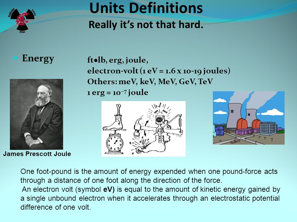 Units Definitions Really it's not that hard.