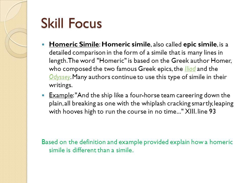 Skill Focus