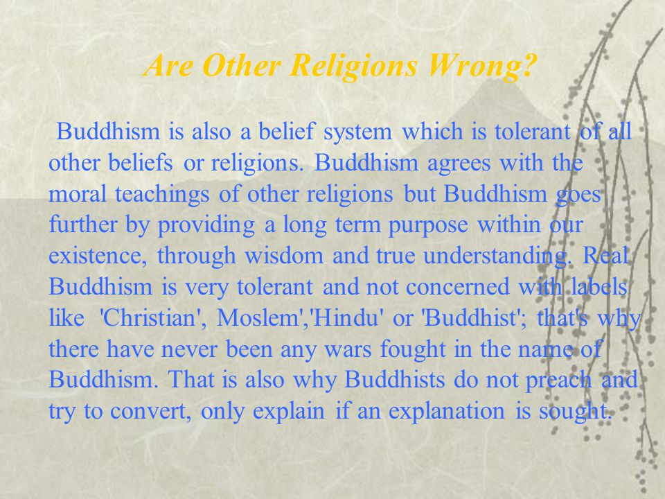 Are Other Religions Wrong