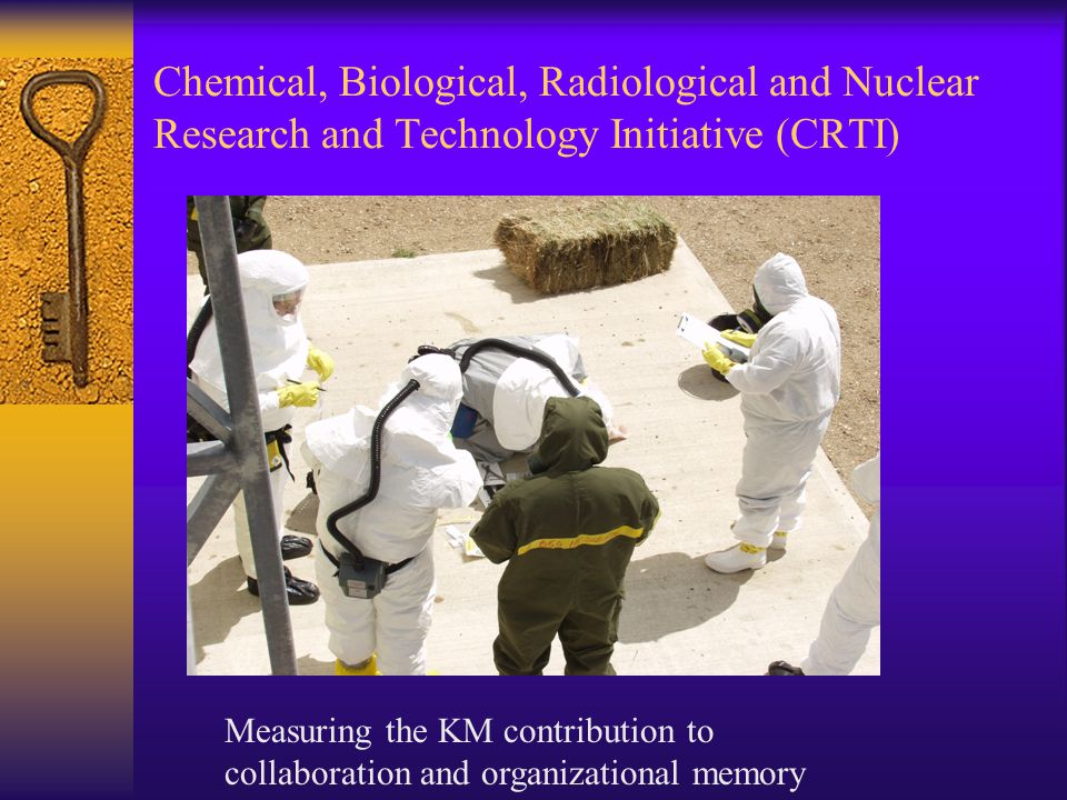 Chemical, Biological, Radiological and Nuclear Research and Technology Initiative (CRTI)