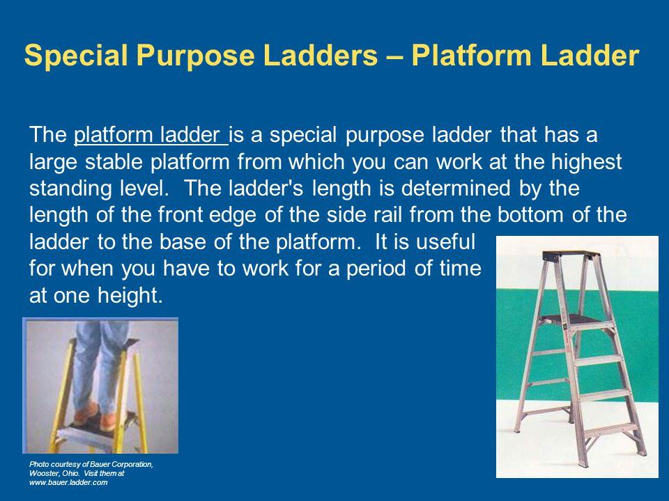 Special Purpose Ladders – Platform Ladder