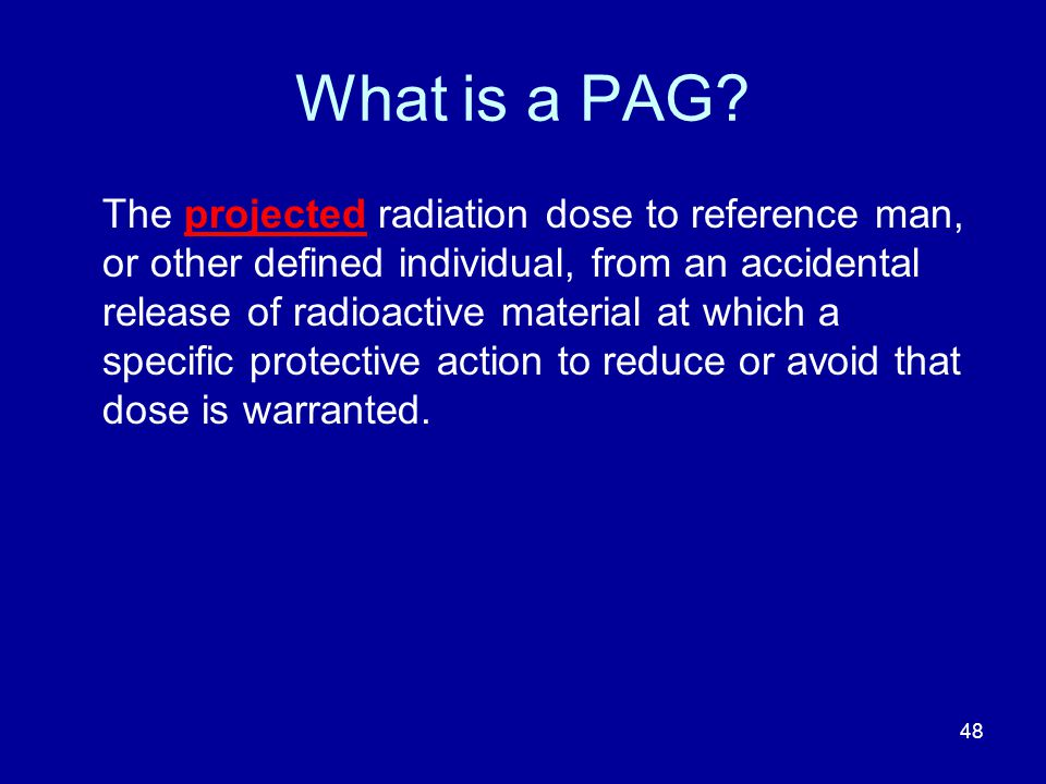 What is a PAG