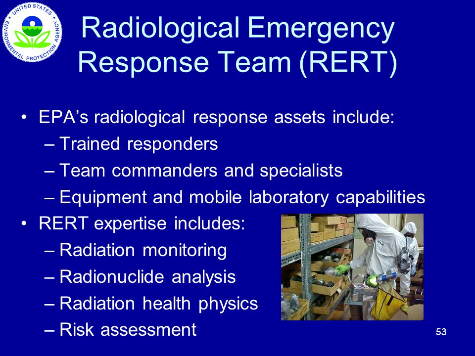 Radiological Emergency Response Team (RERT)
