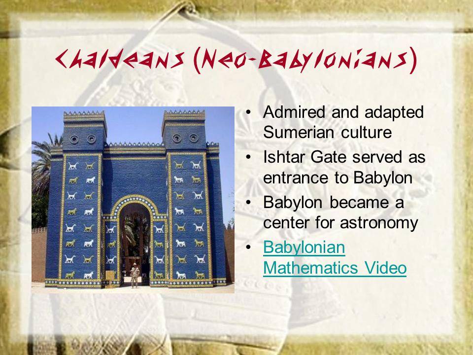 Chaldeans (Neo-Babylonians)