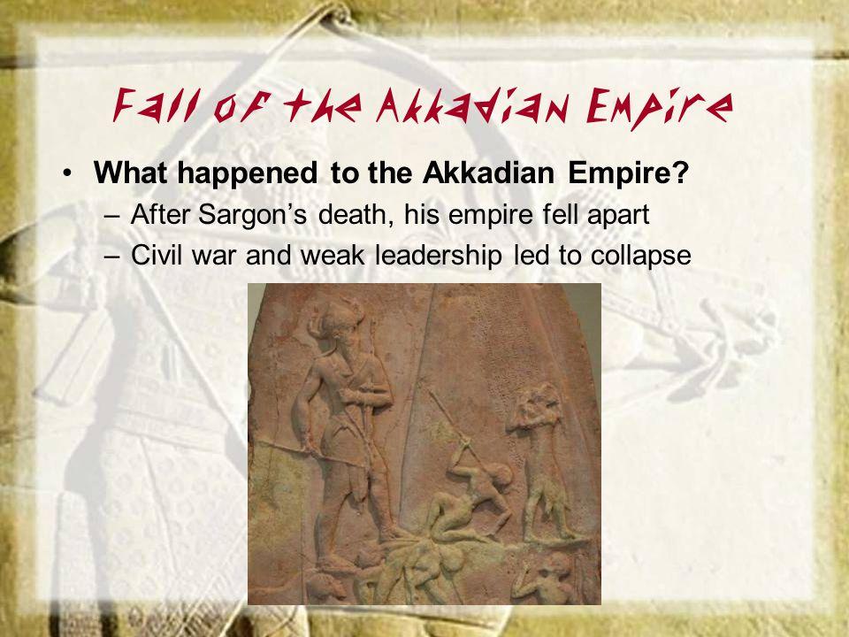 Fall of the Akkadian Empire