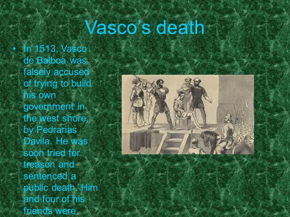 Vasco's death