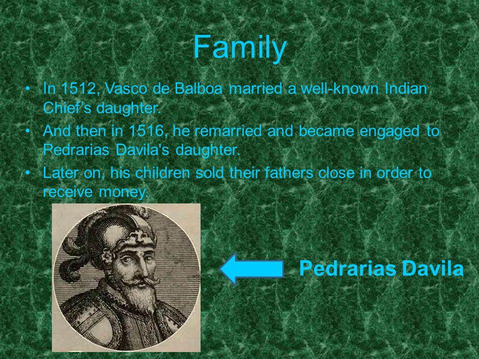 Family Pedrarias Davila
