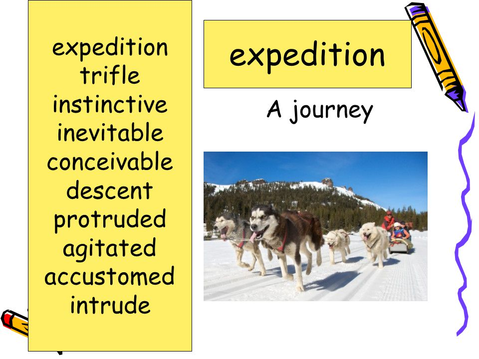expedition expedition trifle instinctive inevitable conceivable
