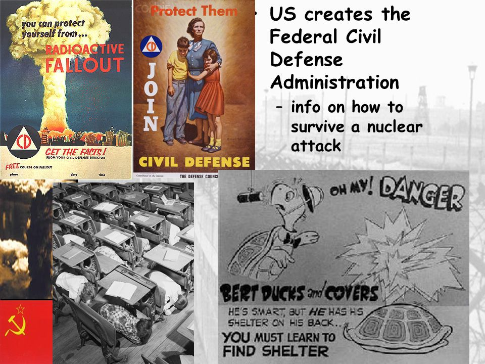 US creates the Federal Civil Defense Administration