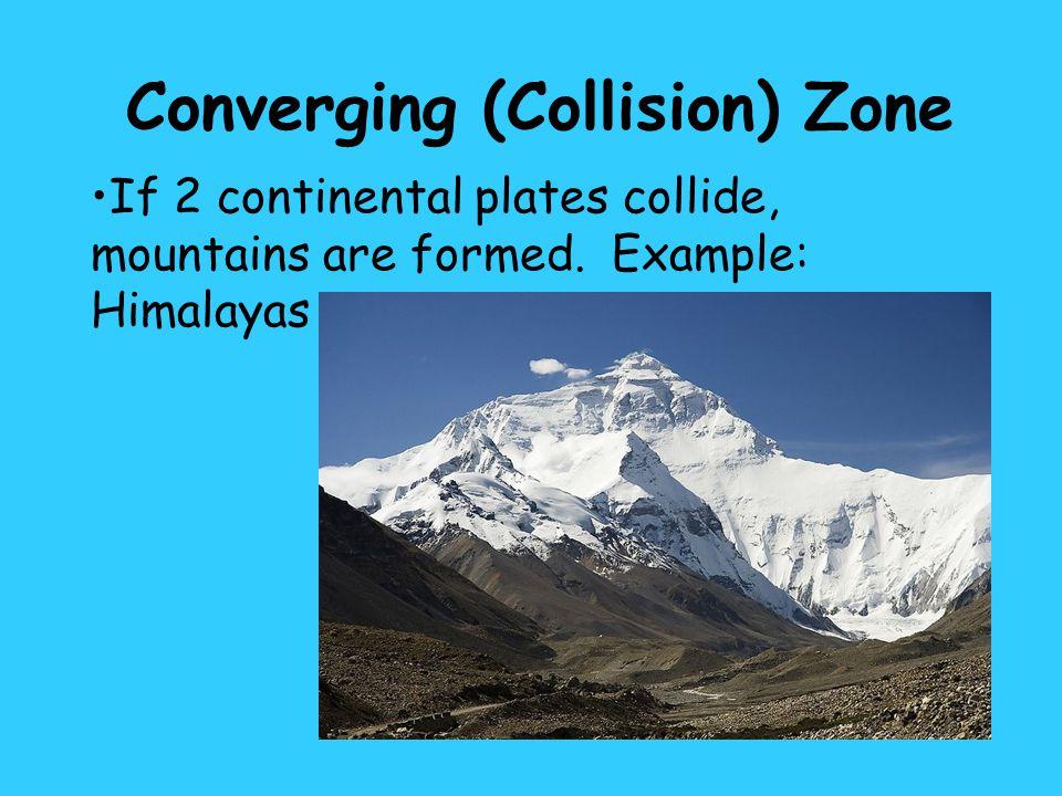 Converging (Collision) Zone