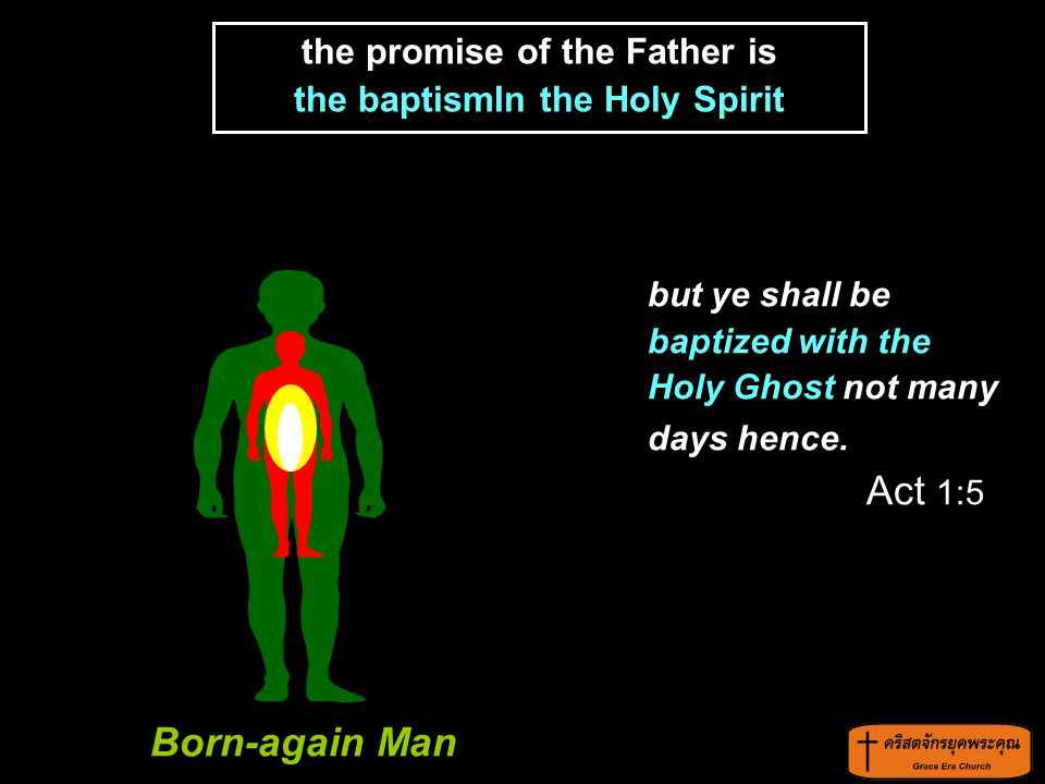 the promise of the Father is the baptismIn the Holy Spirit