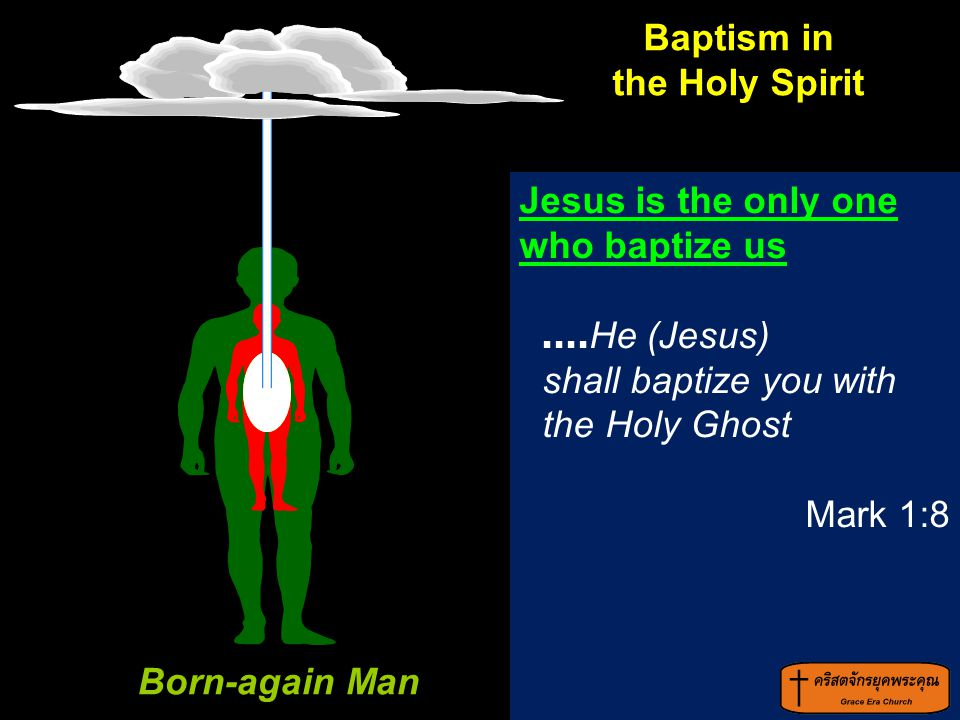 Born-again Man Baptism in the Holy Spirit