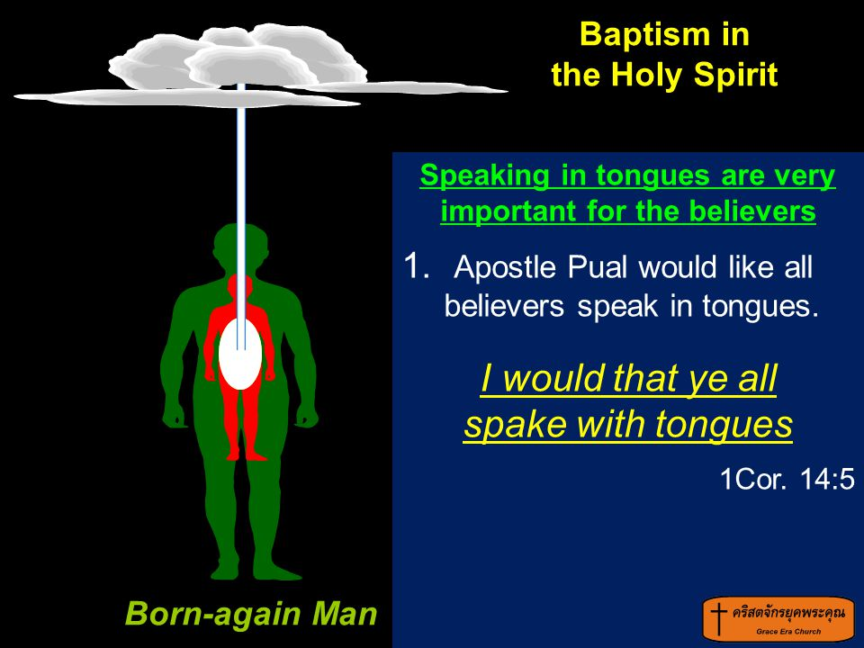 Speaking in tongues are very important for the believers