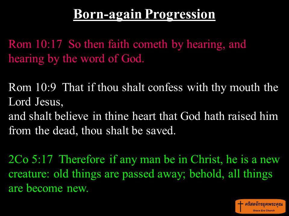 Born-again Progression