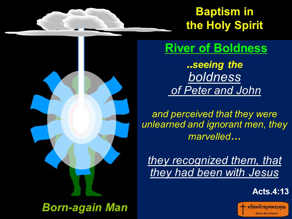 boldness of Peter and John