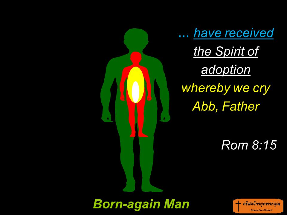 ... have received the Spirit of adoption