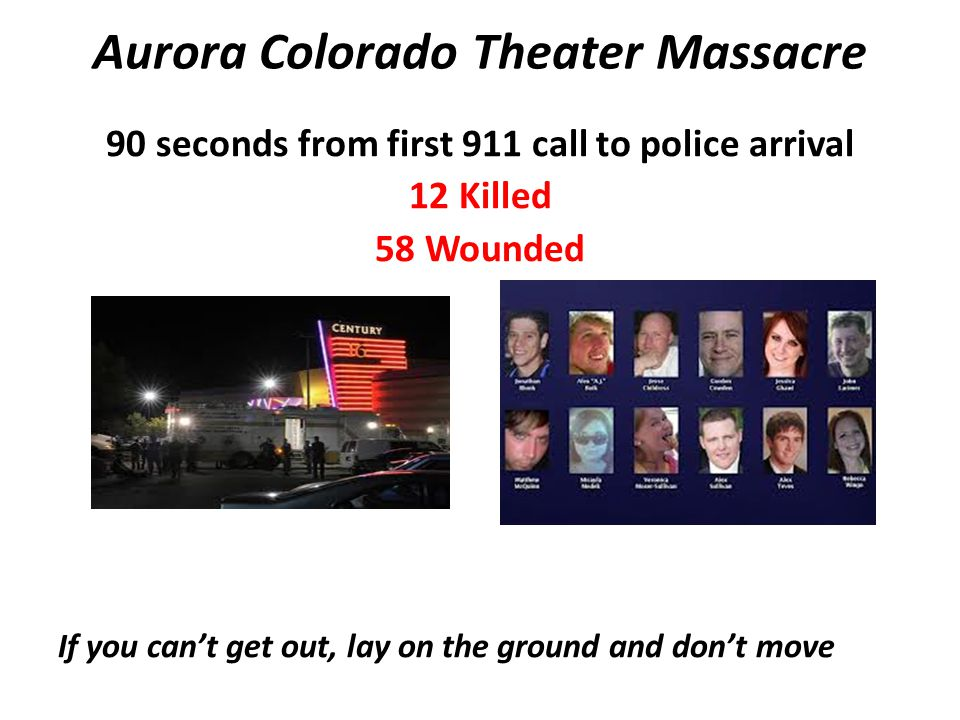 Aurora Colorado Theater Massacre