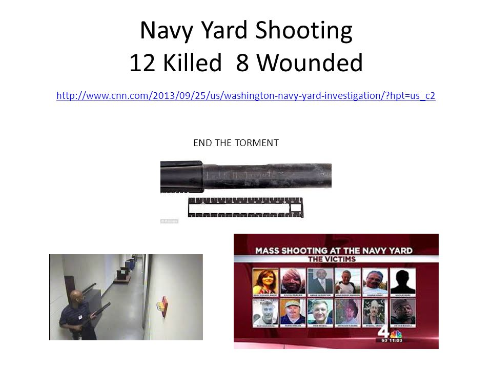 Navy Yard Shooting 12 Killed 8 Wounded