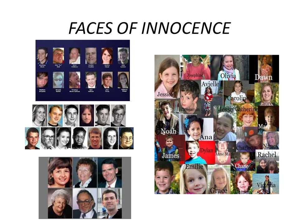 FACES OF INNOCENCE