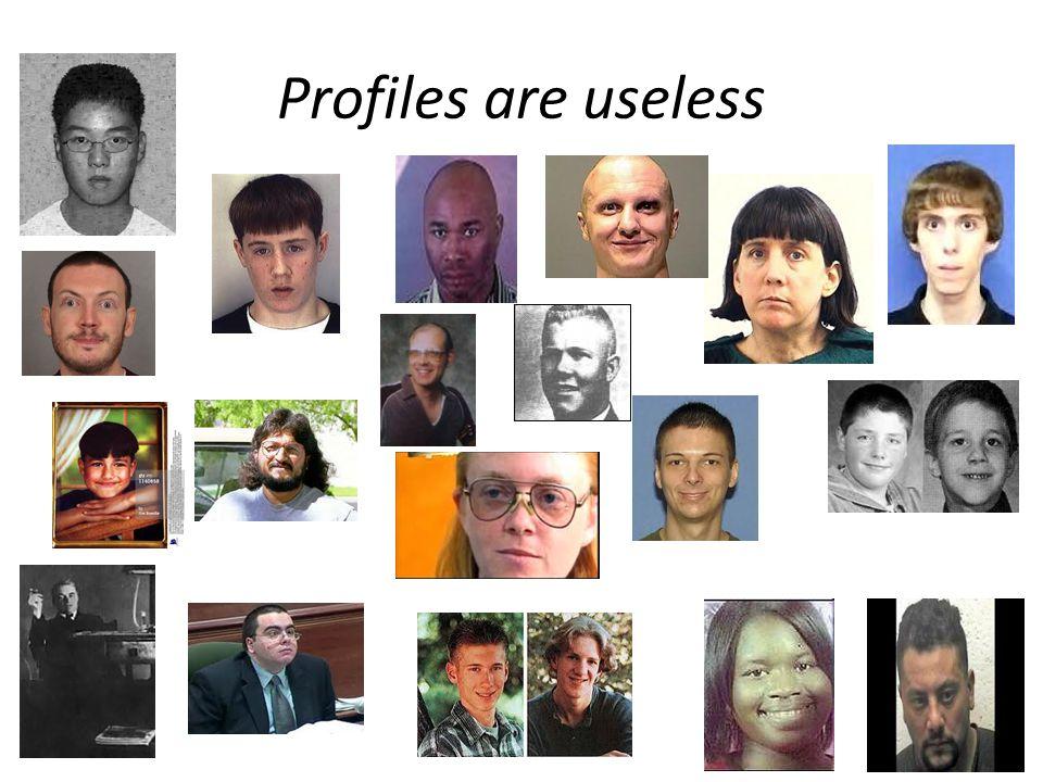 Profiles are useless