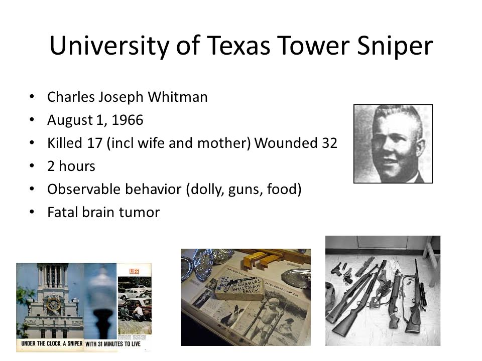 University of Texas Tower Sniper