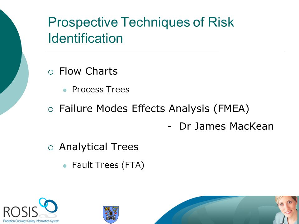 Prospective Techniques of Risk Identification