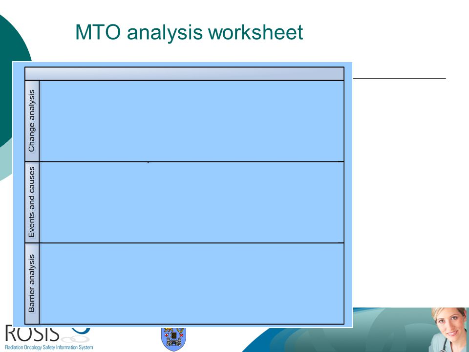 MTO analysis worksheet