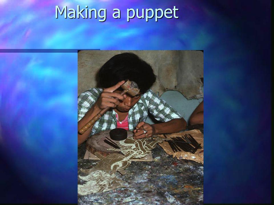 Making a puppet