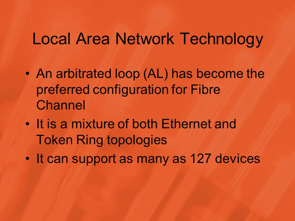 Local Area Network Technology