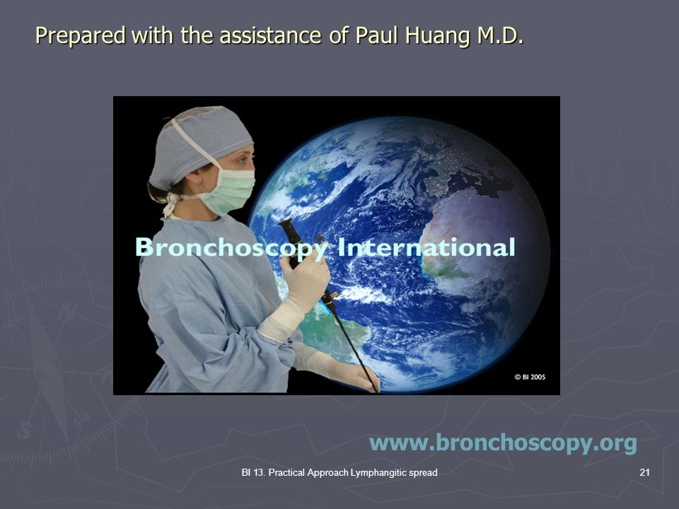 Prepared with the assistance of Paul Huang M.D.
