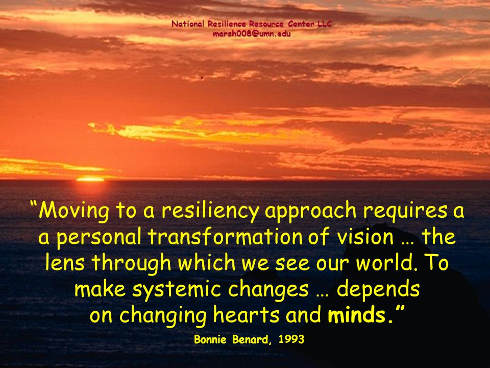 National Resilience Resource Center LLC