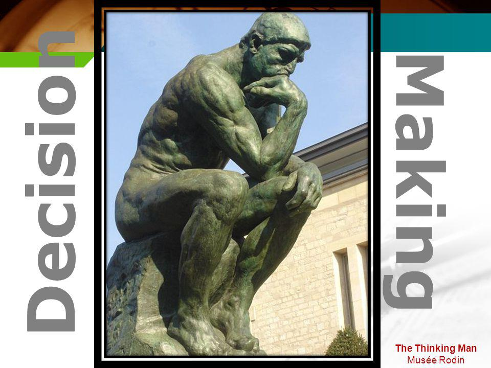 The Thinking Man Musée Rodin