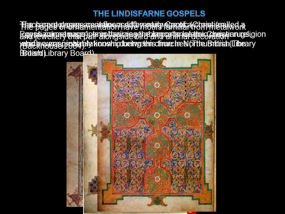 The Lindisfarne Gospels
