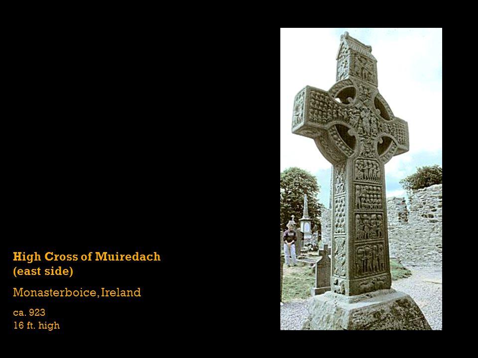 High Cross of Muiredach (east side) Monasterboice, Ireland