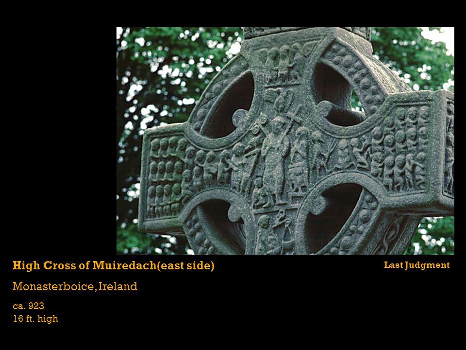 High Cross of Muiredach(east side) Monasterboice, Ireland