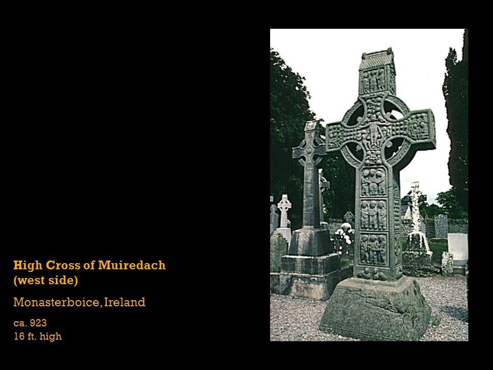 High Cross of Muiredach (west side) Monasterboice, Ireland