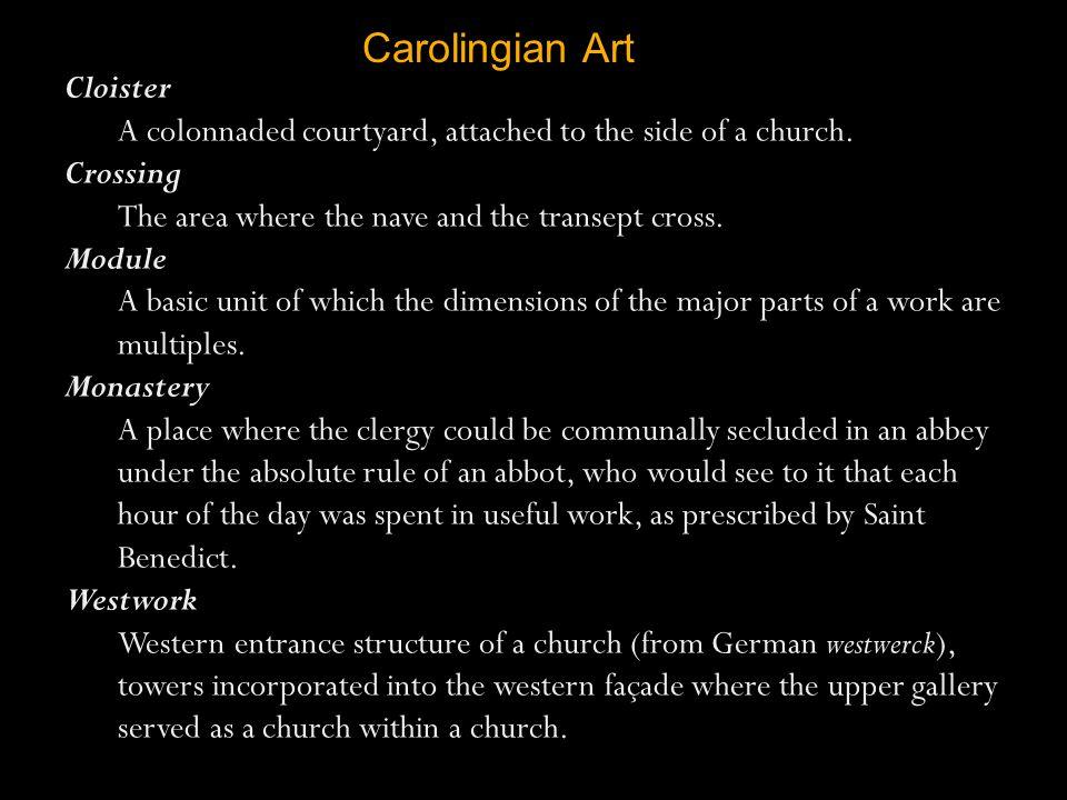Carolingian Art Cloister