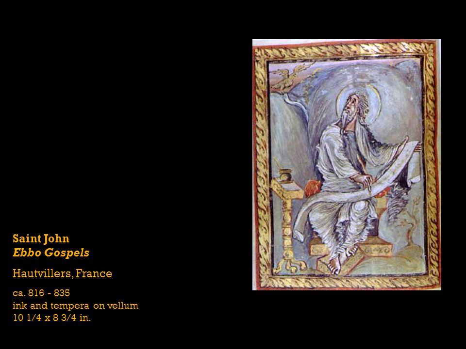 Saint John Ebbo Gospels Hautvillers, France