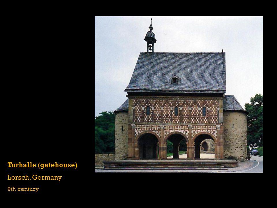 Torhalle (gatehouse) Lorsch, Germany 9th century