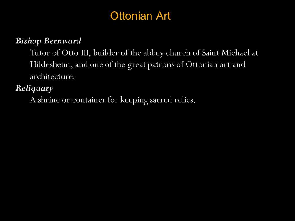 Ottonian Art Bishop Bernward
