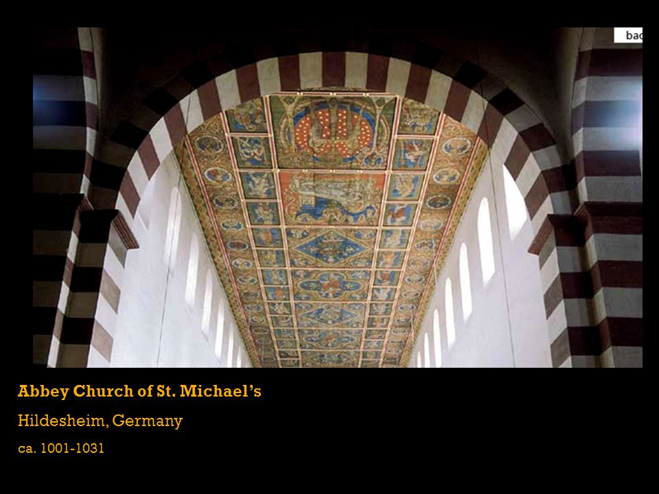 Abbey Church of St. Michael's Hildesheim, Germany
