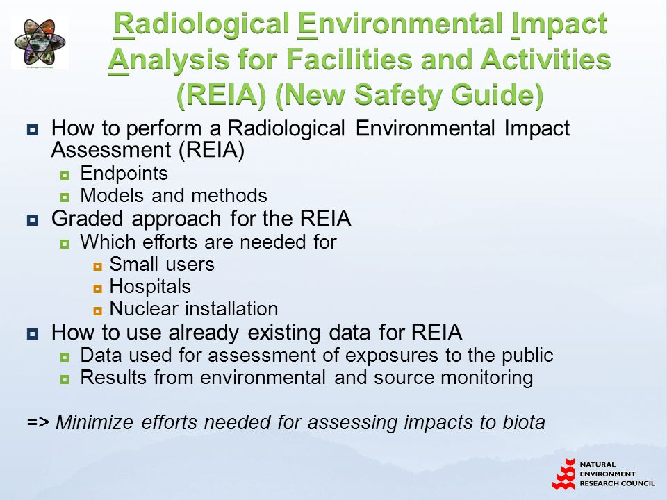 Radiological protection of the environment: CEH Lancaster 24th - 26th November 2010