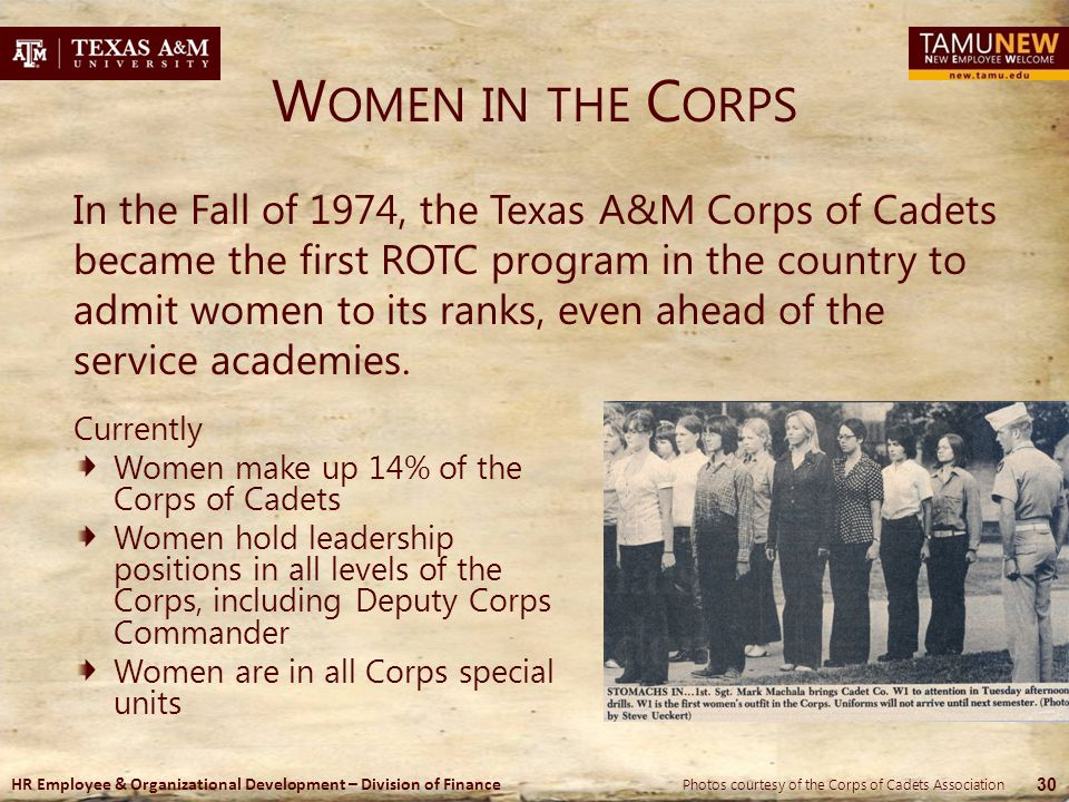 Women in the Corps